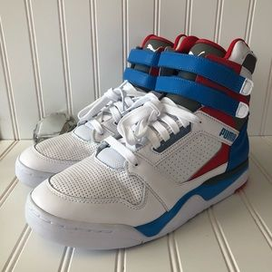 NEW Puma Palace Guard Mid Retro Sneakers